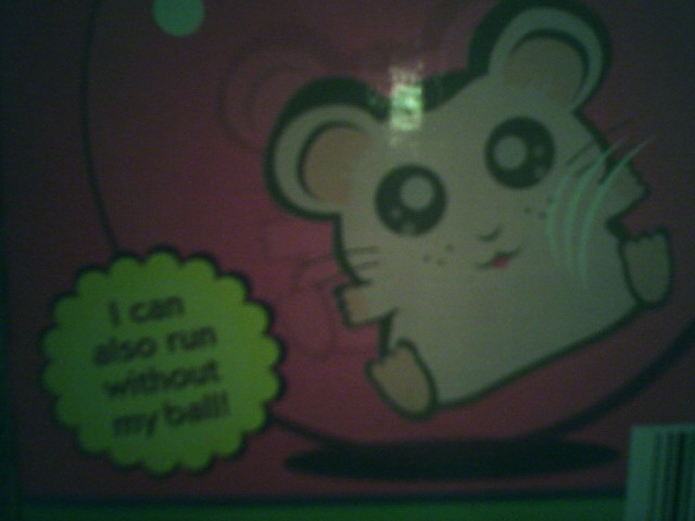 Good to know, mr. Hamster